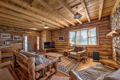 Pine Mountain Vista Living Room Breckenridge Lodging Vacation Re