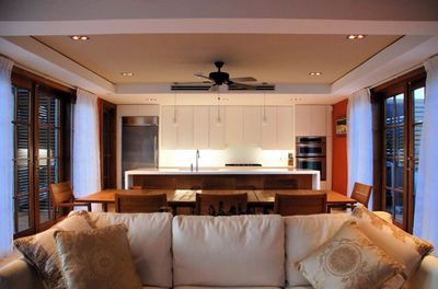 Looking towards the kitchen - quiet and understated luxury