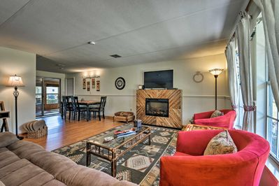 The 3-bed, 2-bath vacation rental accommodates 8 guests.