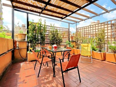 Photo for Unique Penthouse with private terrace in the Renaissance center of Rome