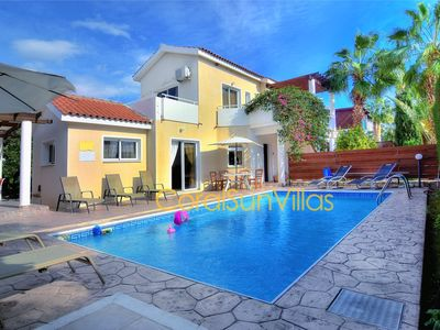 Photo for VILLA IN THE HEART OF CORAL BAY WITH PRIVATE POOL & GARDEN, QUIET PRIVATE STREET