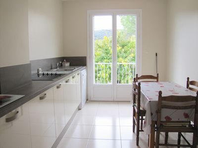 Photo for Air-conditioned apartment with beautiful terrace and independent entrance