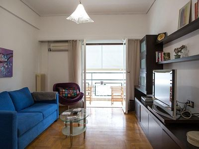 Photo for Luxurious Suite 5 min from the Museum (Patision Av)
