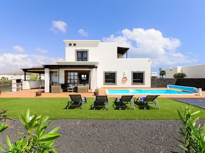 Photo for Elegant Villa with Pool, Terrace, Balcony with Beautiful View, Garden and Wi-Fi; Parking Available