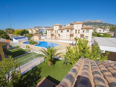 Photo for Calpe Holiday Home, Sleeps 6 with Pool and Air Con