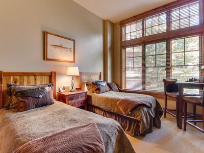 Photo for Ski-in/ski-out of this cozy condo w/ shared hot tub in the Village at Northstar