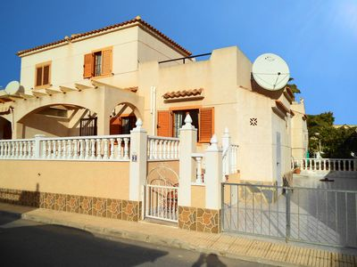 Photo for Villa With Shared Pool And Sea Views, Only 5 Mins From Beach.