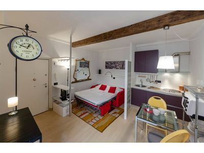 Photo for Casa Garba  apartment in Genoa with WiFi & air conditioning.