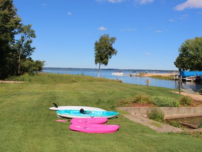Photo for Lake Living Directly On Castle Rock Lake - 20 Min From WI Dells