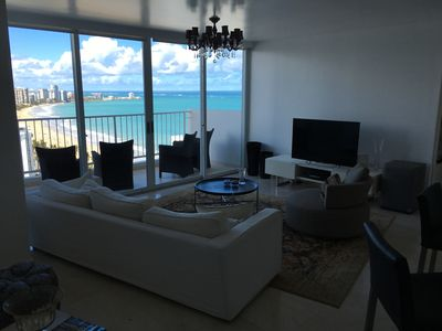 Photo for Luxurious and Stunning Condo on the gentle waves of Isla Verde Beach!