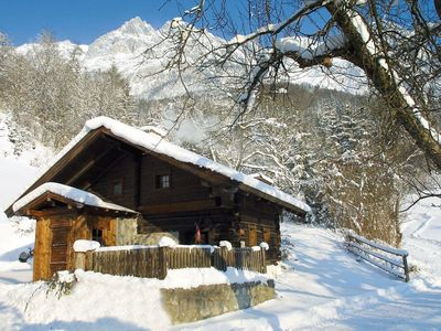 Photo for Vacation in a cabin of 300 years old! This renovated cottage is situated near the village Werfen on