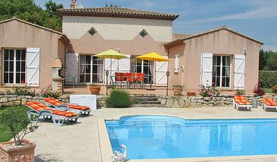 Photo for Villa with Private Pool, Secluded Garden, Air-con