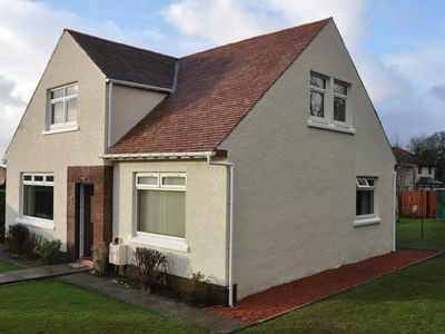 Photo for Spacious Villa in Largs, North Ayrshire Coast.Ideal for families. Pets considere