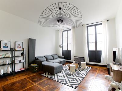 Photo for BEAUTIFUL APARTMENT HISTORIC CENTER OF BAYONNE view on the NIVE