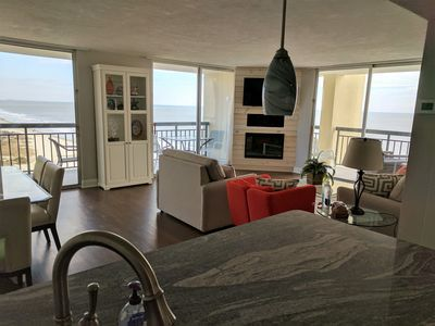 Photo for TRUE OCEANFRONT WITH PANORAMIC VIEWS!!  1st  CLASS ACCOMMODATIONS!