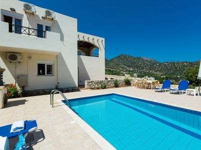 Photo for Villa Kostis - Villa With WIFI, Private Pool, BBQ & A/C.