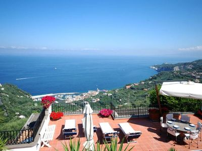 Photo for Torre Annunziata Villa, Sleeps 9 with Air Con and WiFi