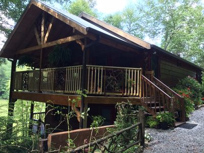 Photo for Big Creek in Blue Ridge ~3 BR / 3 BA ~ $225.00 Nt 7th Nt FREE!   5 STAR REVIEWS!
