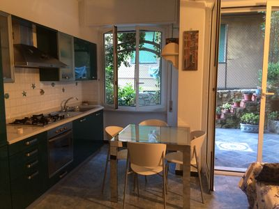 Photo for Your home at 5 Terre, two-roomed apartment in Monterosso al Mare