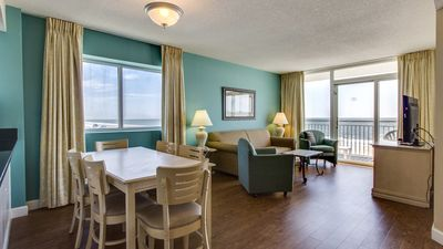 Enjoyable Suite For 8 Right On The Beach With Balcony Awesome Indoor Water Features Myrtle Beach Home Remodeling Inspirations Propsscottssportslandcom
