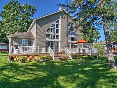 Waterfront Vandalia House w/ Dock on Donnell Lake!