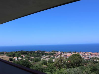 Photo for Very panoramic apartment 3 km from Tropea