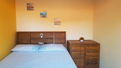 Photo for Kitnet near the beach equipped with stove, refrigerator, air conditioning.