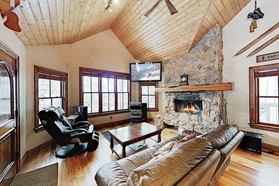 Living Room - Welcome to Park City! This townhome is professionally managed by TurnKey Vacation Rentals.