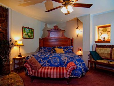 Photo for Memories Suite, King Bed, Spa Tub for Two, Private Deck, Fireplace, Cable