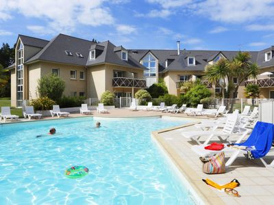 Photo for One bedroom Apartment, sleeps 5 in Saint-Lunaire with Pool and WiFi