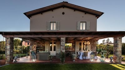 Photo for VILLA PEMOLA a Luxury Farmhouse with Garden and bikes in Lucca Town