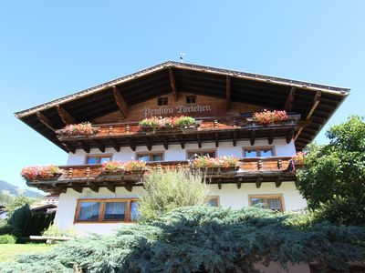 Photo for Fantastic apartment close to the lift to the Kitzbüheler skiing and hiking area
