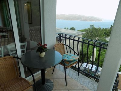 Photo for Studio flat with terrace and sea view Zagore (Opatija)