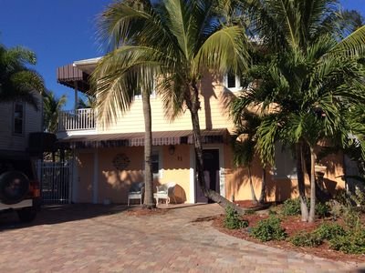 Photo for Fabulous 4/4 Beach House just 90 ft from Gulf! Heated Pool/Spa, 2 Kitchens MORE!