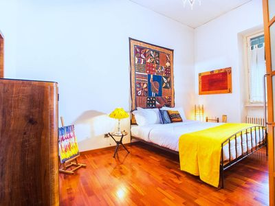 Photo for Colourful 2 bed apartment close to Vatican