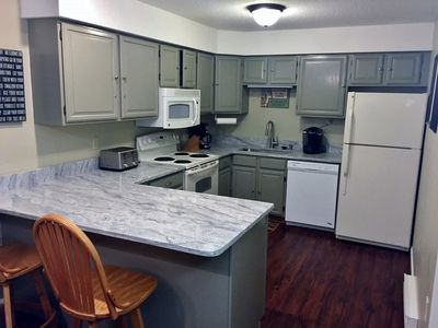 Photo for Cozy Loon Inn Condo #2-Wifi,AC,Indoor/Outdoor Pools, ,FP,Town Center-Sleeps 6