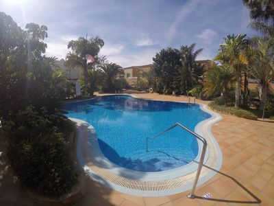 Photo for Apartment with two bedrooms  in relax complex with pools
