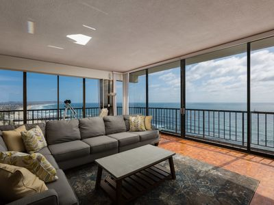 Photo for 3-Bedroom Capri by the Sea Ocean View Penthouse at Beautiful Pacific Beach