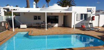 Photo for Newly Renovated Luxury 4 bed Villa  Aphrodite with heated pool in great location