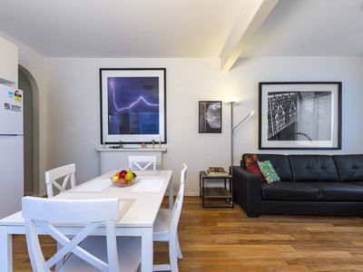 Photo for in the Heart of Bondi Beach , 2 bed art deco, Walk to shops and beach