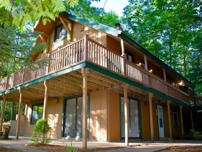 Photo for 5 BR Lakehouse - Family-Friendly Home Minutes from Beaches, Wineries, & Downtown