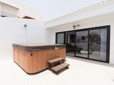 Photo for Luxury Modern 3 Bedroom Villa. Central Playa De Las Americas.
