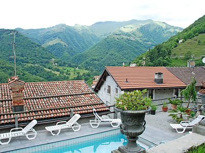 Photo for Vacation home 1000 e 1 Notte  in Cabbio, Ticino - 6 persons, 3 bedrooms