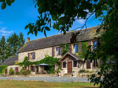 Photo for 16th Century Manor, Mayenne, FRANCE - Sleeps 6 - Motorcyclists very welcome
