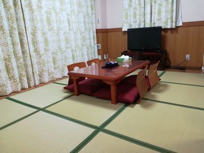 Japanese style room in center Tokyo