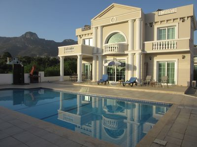 Photo for Farawayvillas Stunning 170m2 Villa Private pool Sea & mountain view Close to sea