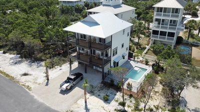 Photo for Brand New! Gulf View! Private Pool! 2 Family Rooms!