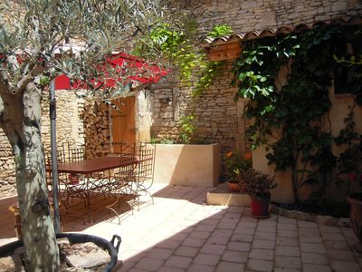 Photo for Very beautiful village house made of stone; completely renovated