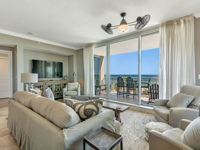 Photo for Indigo East 406- Beach Front View with Luxurious Interior and Amenities