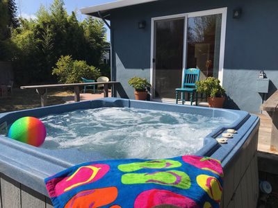 Photo for Steps to the Beach... with Hot Tub! *Jan/Feb Special*